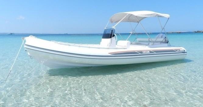 Rental RIB in Ibiza Town - Selva DS Evolution
