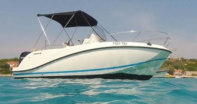 Boat rental Quicksilver Activ 605 Open in Split on Samboat