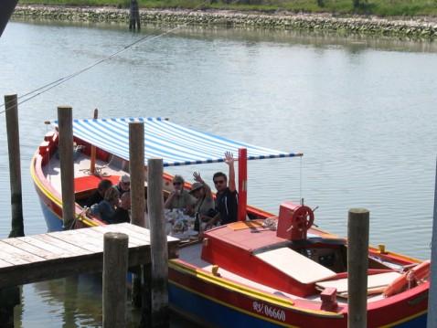 Rent a Barca tradizionale bragozzo  Venezia