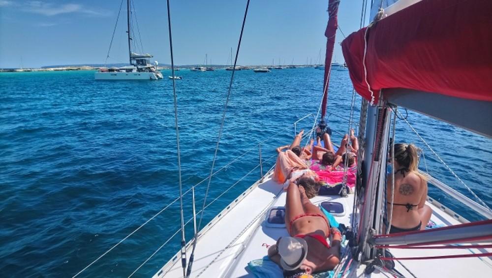 Boat rental Ibiza cheap Dufour 43 Classic