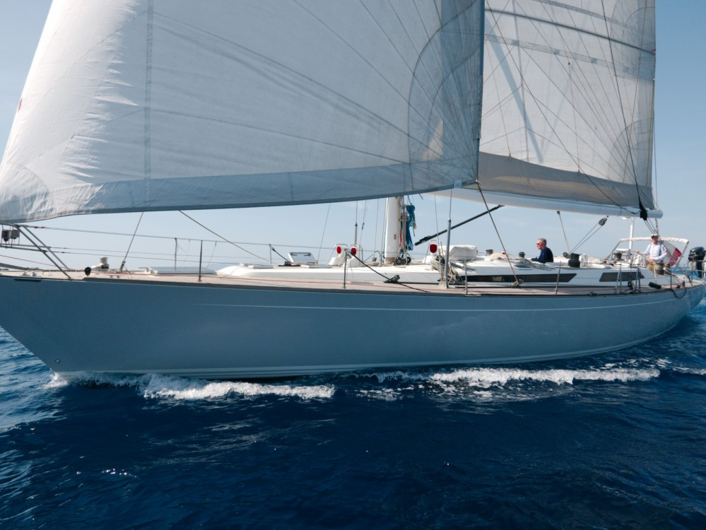Rental Sailboat Baltic Yachts with a permit