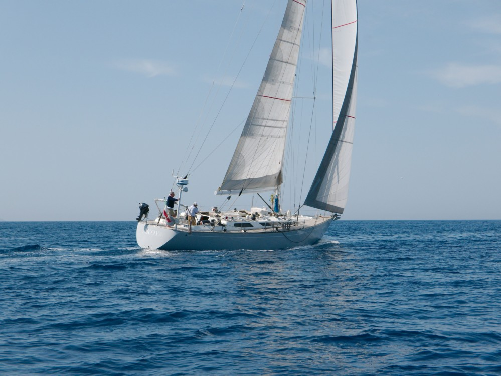 Baltic Yachts B58 between personal and professional Vittoriosa