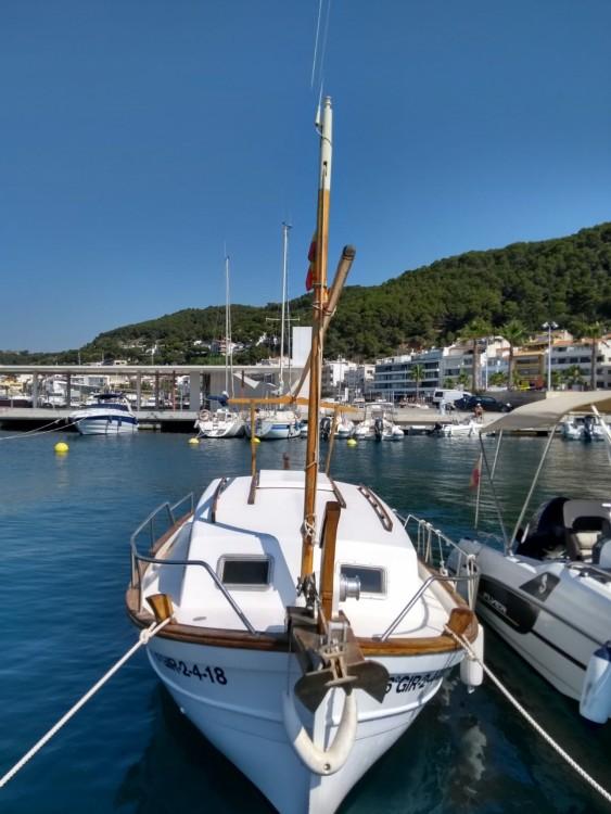 Rental Sailboat Astilleros Menorca with a permit