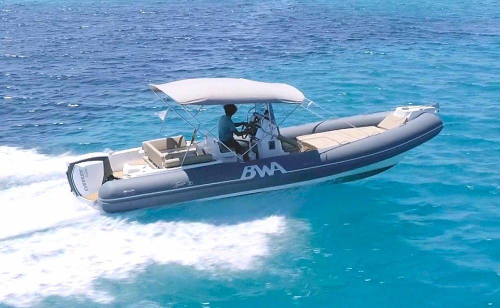 Hire RIB with or without skipper Bwa
