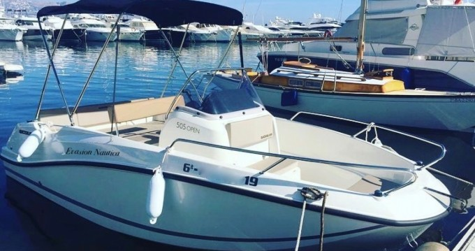 Rental yacht Altea - Quicksilver open 505 on SamBoat