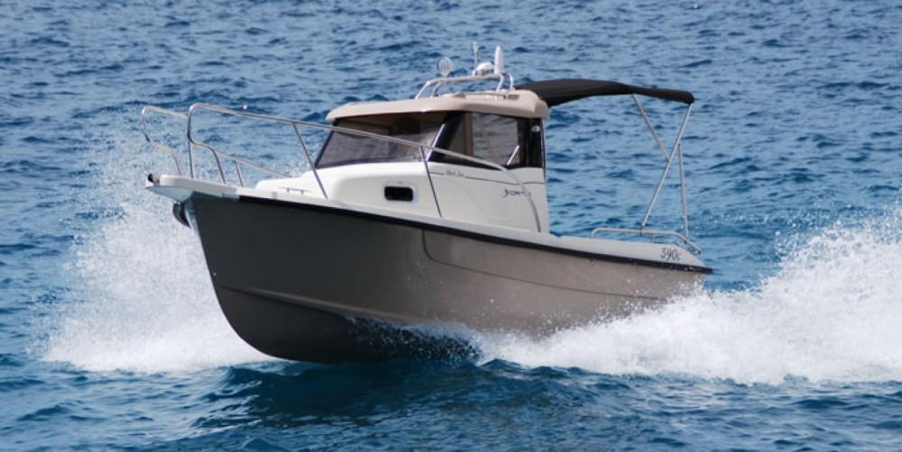 Boat rental Trogir cheap Fortis 590C
