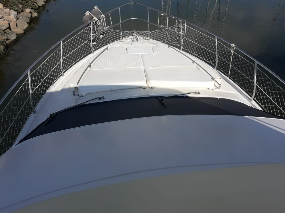 Boat rental Ibiza cheap Azimut 40 Fly