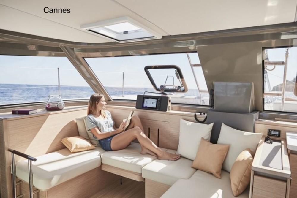 Boat rental Nautitech Open 40 in Antibes on Samboat