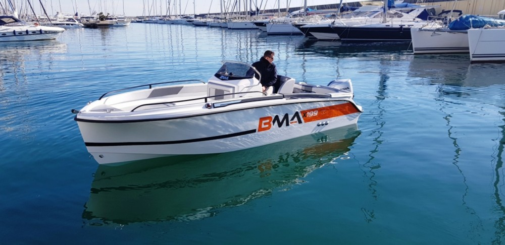Rental Motorboat BMA with a permit