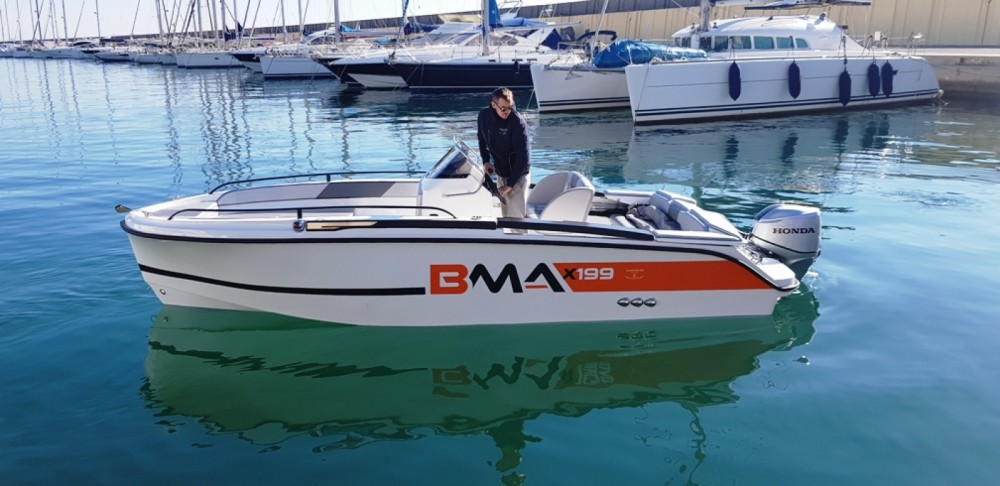 Hire Motorboat with or without skipper BMA Bordighera
