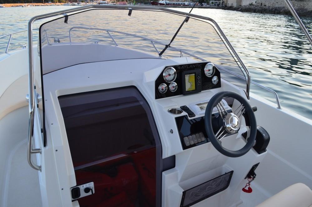 Rental Motorboat in Krk - Atlantic open 670