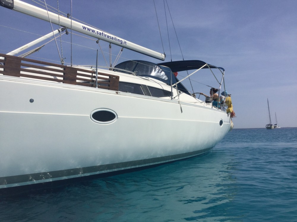 Boat rental Trapani cheap Elan 434