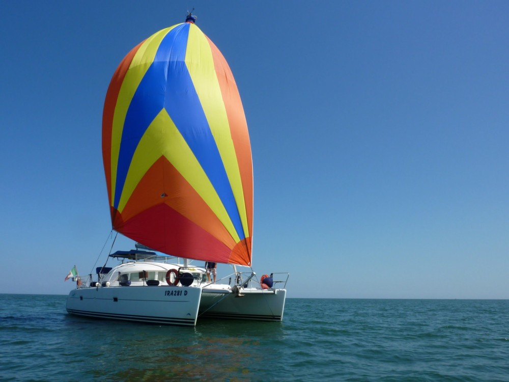 Hire Catamaran with or without skipper Lagoon Trapani