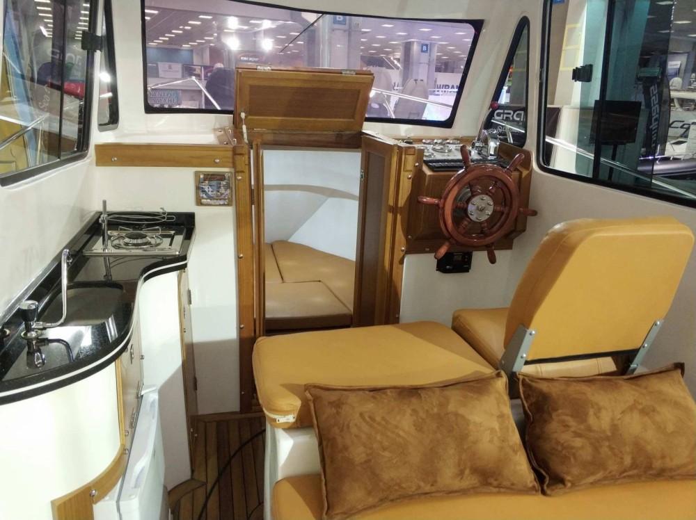 Boat rental Kutlay Marine Rakser Sloop 700 in Keramoti on Samboat