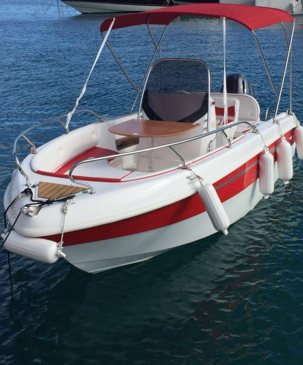 Hire Motorboat with or without skipper Salmeri Baška Voda