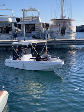 Boat rental Fréjus cheap Saver Open 450