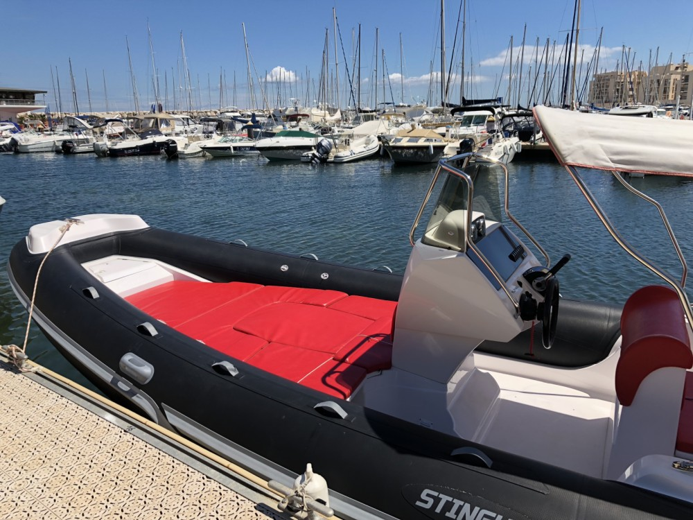Italboats STINGHER 22 between personal and professional Bormes-les-Mimosas
