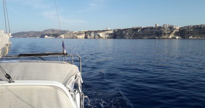 Boat rental Bonifacio cheap Dufour 560 Grand Large