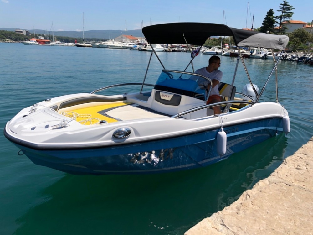 Rental Motorboat in Croatia - Rancraft RS5