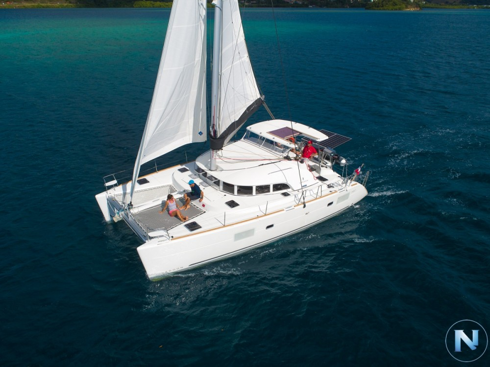 Lagoon Lagoon 380 S2 between personal and professional Le Marin