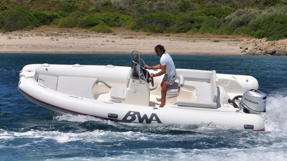 Hire RIB with or without skipper Bwa Ponza