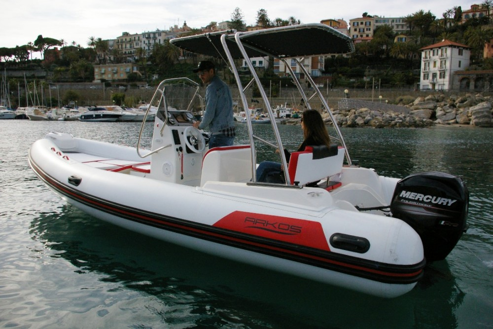 RIB for rent Sanremo at the best price