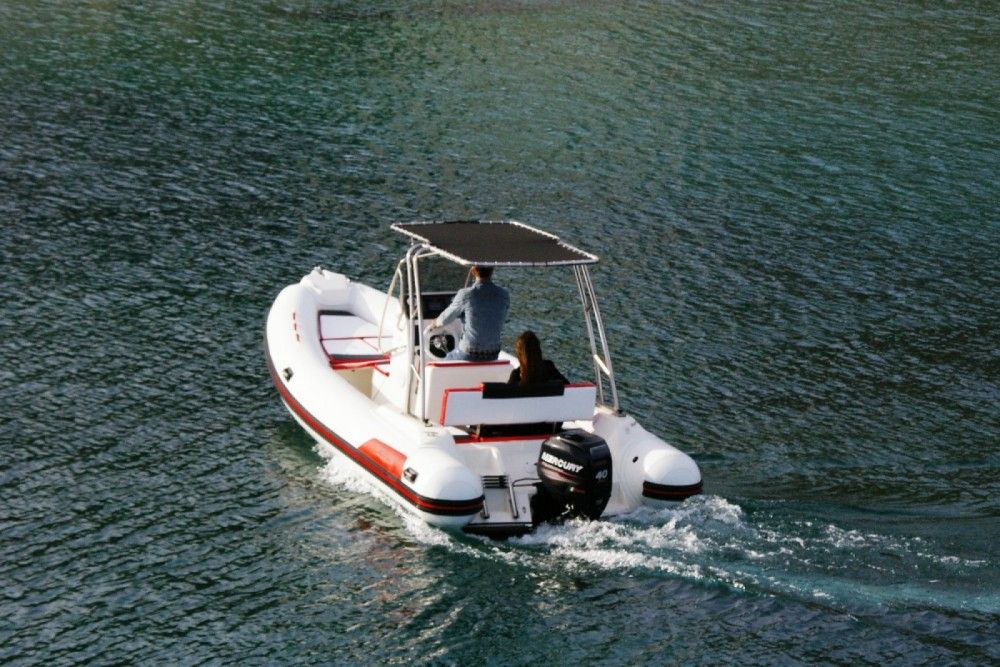 Hire RIB with or without skipper Arkos Sanremo