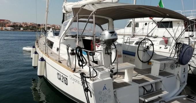 Boat rental Carloforte cheap Oceanis 38