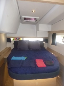 Fountaine Pajot Lucia 40 between personal and professional Les Trois-Îlets