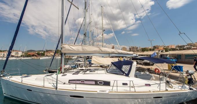 Rental Sailboat in Lávrio - Bénéteau Oceanis 50 Family