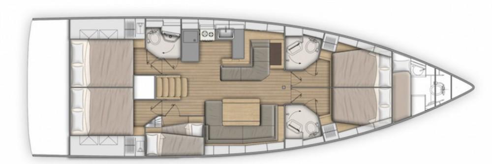 Rental yacht Laurium - Bénéteau Oceanis 51.1 on SamBoat