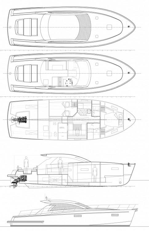 Rental yacht Grad Pula - Cyrus Cyrus 13.8 Hardtop on SamBoat