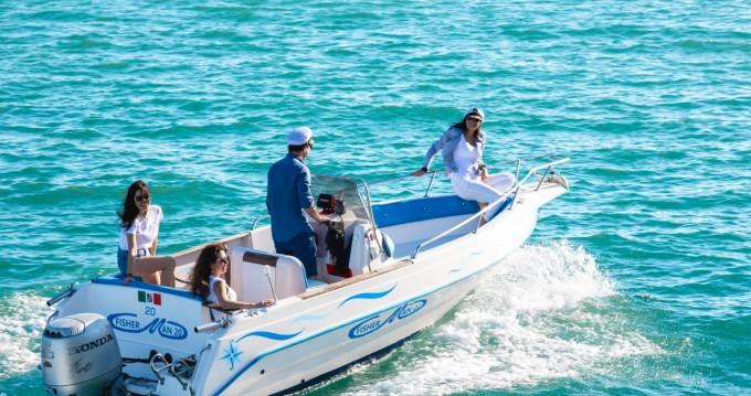Rental Motorboat in Benalmádena - Mimi Fisherman