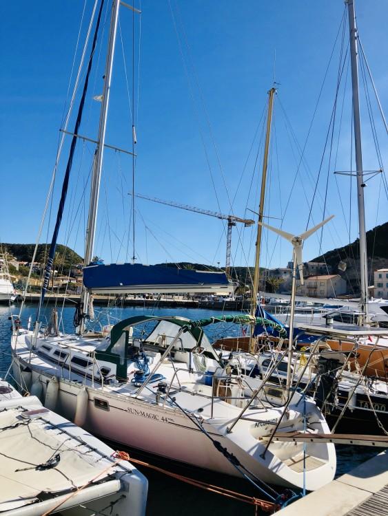 Boat rental Bonifacio cheap Sun Magic 44