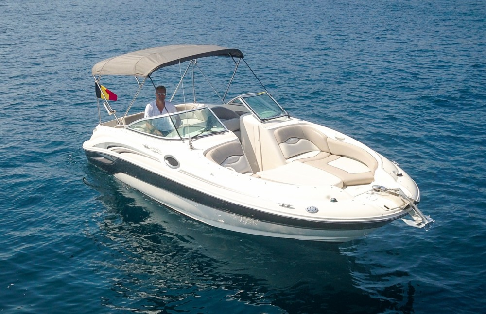 Boat rental Mandelieu-la-Napoule cheap Sea Ray 240 Sundeck