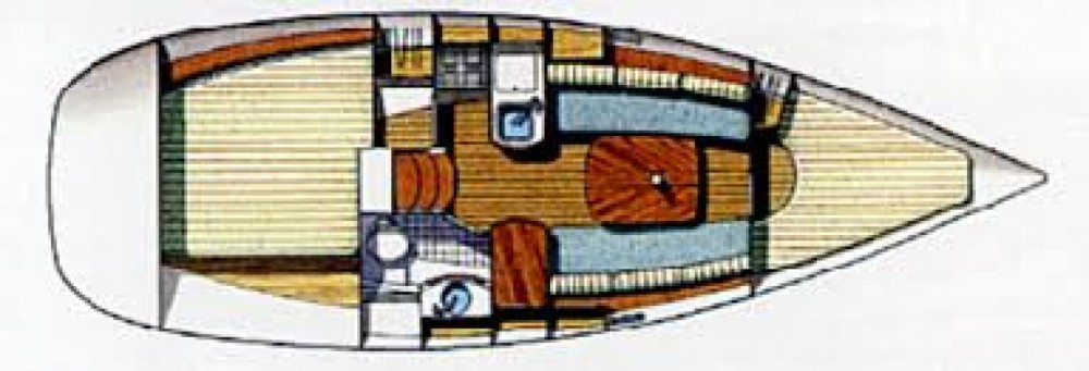 Boat rental Piriac-sur-Mer cheap Oceanis 311 Clipper