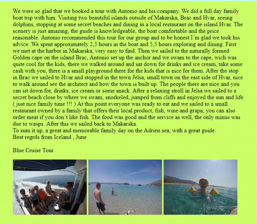 Boat rental Makarska cheap Patrol 690