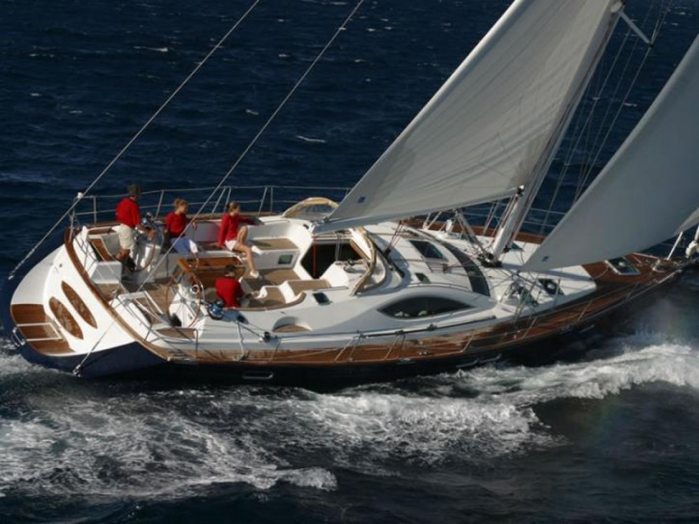 Jeanneau Sun Odyssey 54 DS between personal and professional Calliaqua