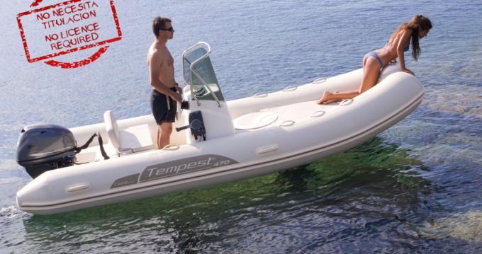 Rental RIB in Ibiza Island - Capelli Tempest 470