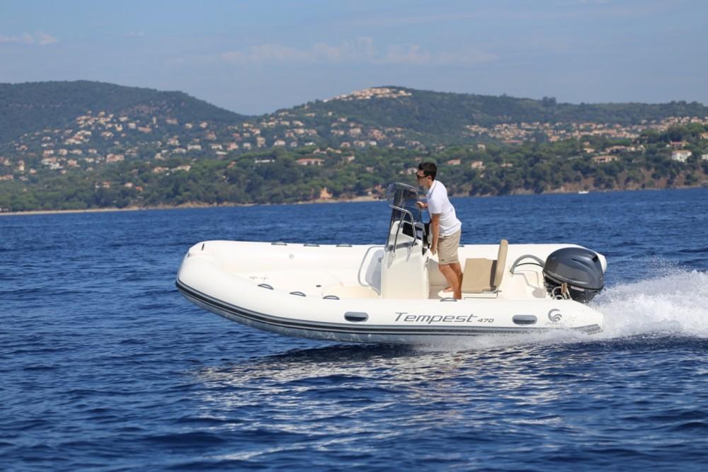 Boat rental  cheap Tempest 470