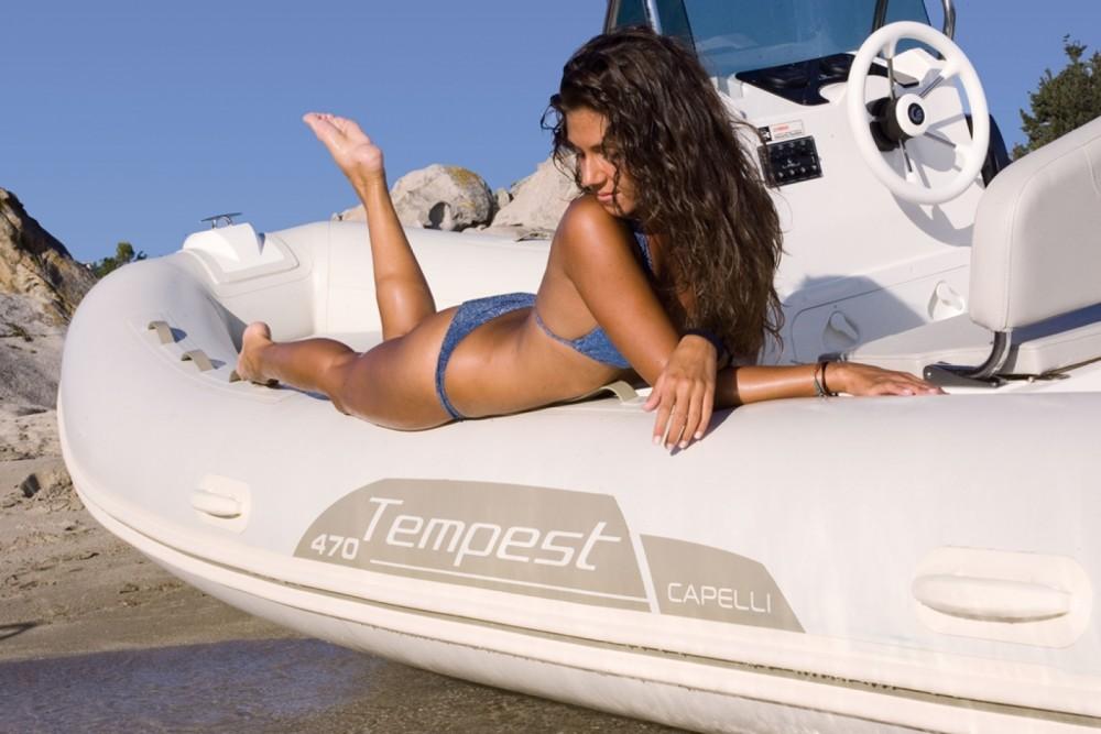 Rental yacht  - Capelli Tempest 470 on SamBoat