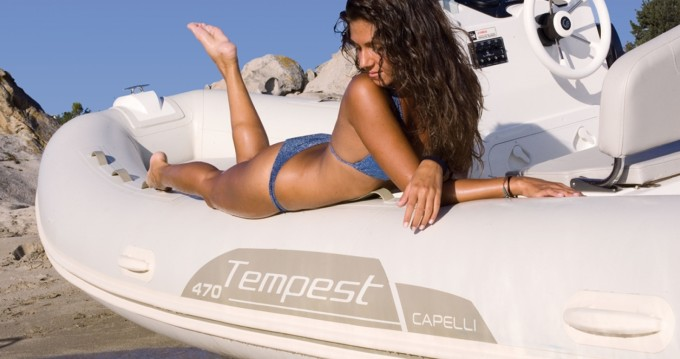 Capelli Tempest 470 between personal and professional Ibiza Island