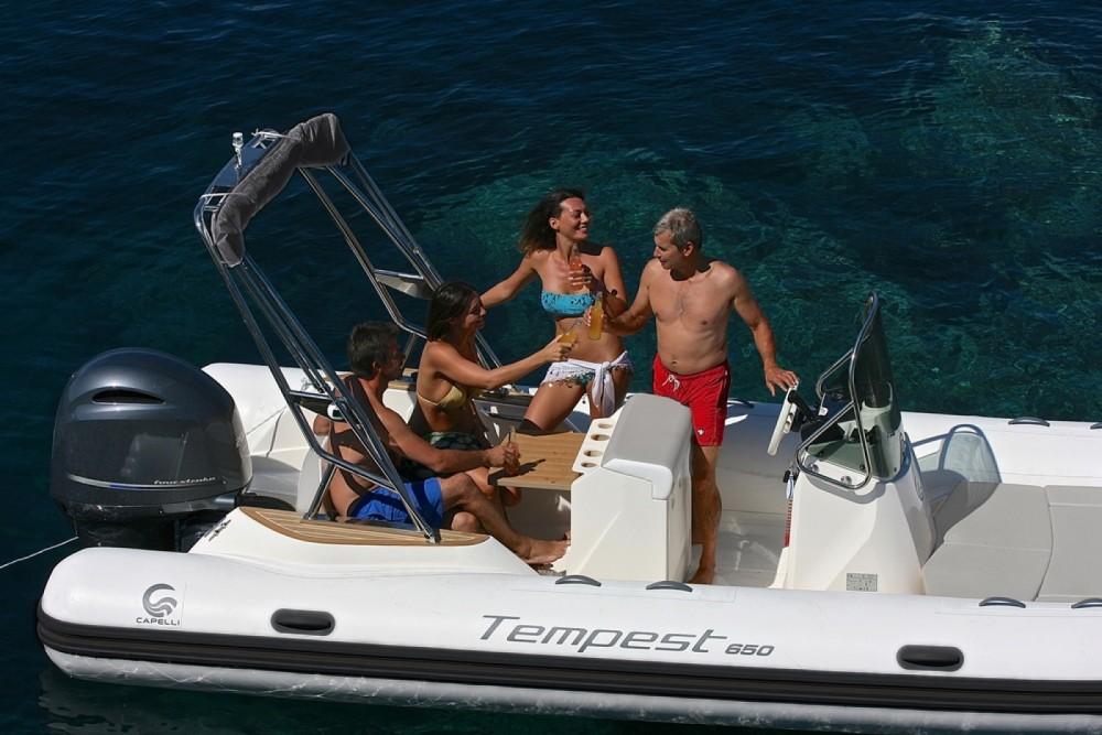 Boat rental Ibiza cheap Tempest 650
