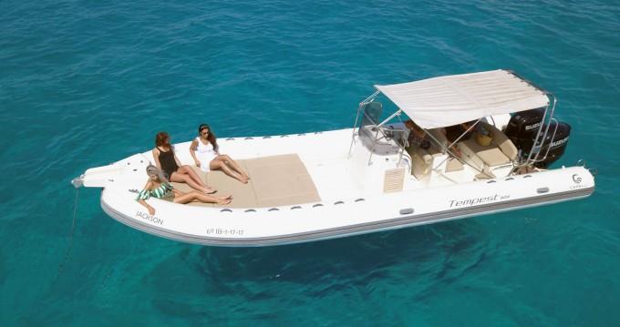 Boat rental Ibiza Island cheap Tempest 900 Sun