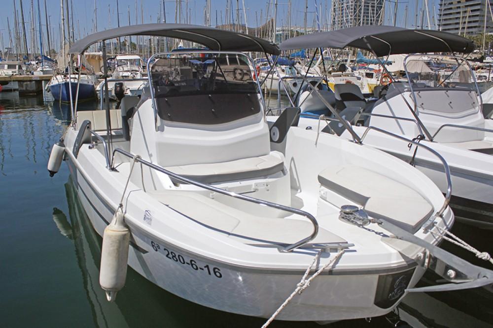 Motorboat for rent l'Estartit at the best price