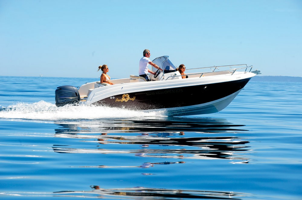 Rental Motorboat in Ibiza - Pacific Craft Pacific Craft 625 Open