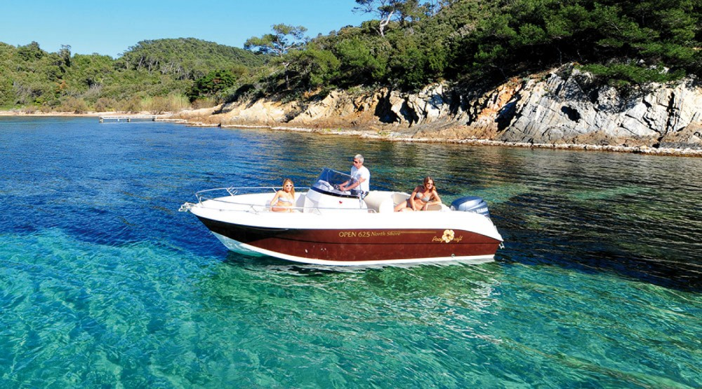 Hire Motorboat with or without skipper Pacific Craft Ibiza