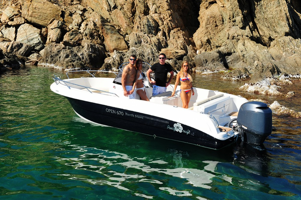Rent a Pacific Craft Pacific Craft 670 Open Balearic Islands