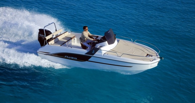 Boat rental Bénéteau Flyer 6.6 SUNdeck in Ibiza Island on Samboat