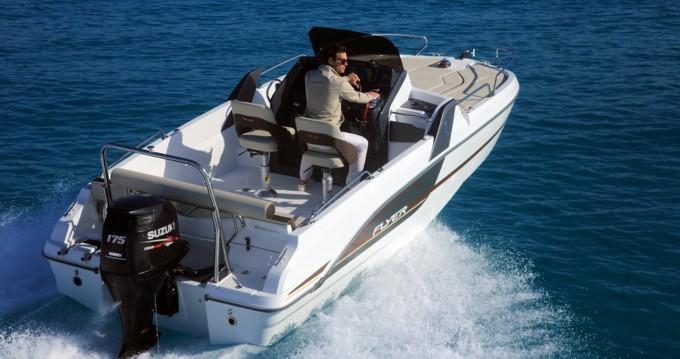 Boat rental Ibiza Island cheap Flyer 6.6 SUNdeck
